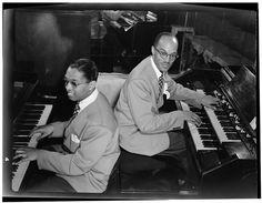 William Gottlieb - Portrait of Billy Taylor and Bob Wyatt, New York, N.Y. (1946-48)