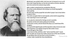 Hudson Taylor ~ founder of China Inland Mission.  Hudson Taylor's Spiritual Secret, FREE pdf:  http://www.missionstomilitary.org/discipleship/lessons/Hudson%20Taylors%20Spiritual%20Secret.pdf