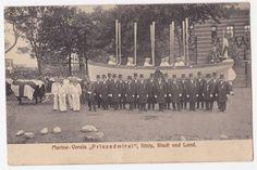 AK - Marine-Verein Prinzadmiral,Kameradschaft, Stolp in Pommern (Slupsk), 1912 | eBay