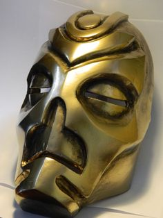 Skyrim Dragon Priest Mask Instructable