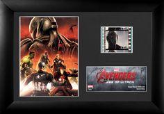 Avengers Age of Ultron FilmCell Framed Memorabilia