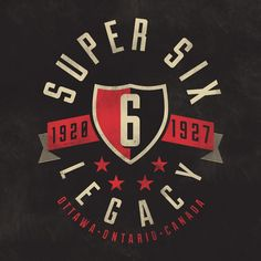 The Super Six by Jamie McLennan (via Creattica)