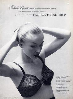 Edith Lances (Lingerie) 1949 Bra
