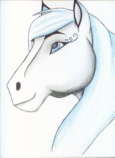 Drawings of Spirit And Rain The Horse images
