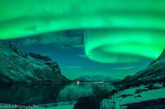 Aurora Borealis From Space 2013 Aurora borealis over iceland