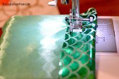 How To Make A Mermaid Tail ~ Tutorial - TheSuburbanMom