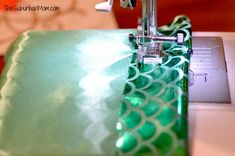 How To Make A Mermaid Tail ~ Tutorial - TheSuburbanMom                                                                                                                                                                                 More