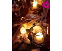 Distribua as velas por todos os ambientes da festa, internos e externos.