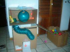 Casa de juegos con cajas por Yamquita1 de La Comunidad de Hurones