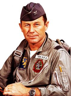 Chuck Yeager retraced history on October 14, 2012, 65 years to the minute, as the first test pilot to break the sound barrier, taking to the skies once again to fly faster than the speed of sound. The 89-year-old Yeager broke the sound barrier in a U.S. Air Force F-15 at 10:24 a.m. over the Mojave Desert, the same location where he first flew past Mach 1 on October 14, 1947.