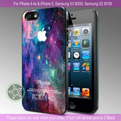 Galaxy Nebula Space Stars Special Design iPhone 4/4S/5, Samsung S4/S3/S2 case cover   sedoyoseneng - Accessories on ArtFire
