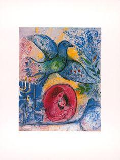 Liebende mit Vogel