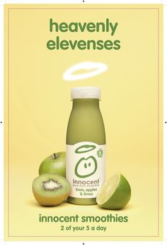 Innocent Smoothie (Kiwis, Apples and Lime): Heavenly Elevenses