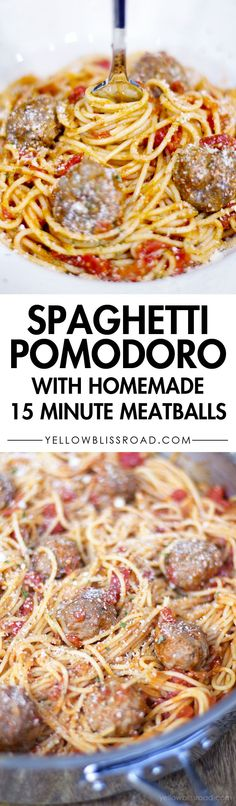Spaghetti Pomodor wi