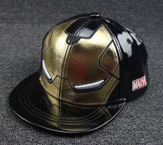 New Cool Iron Man Boys Girls Caps Kids Baseball Cap Children s Hat Snapback  Hip Hop Hats Visor Hats Kids casquette de baseball 347e76828b27