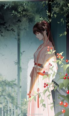 Chinese Drawings, Chinese Art, Anime Angel Girl, Anime Art Girl, Anime Couples Drawings, Anime Couples Manga, Manga Drawing, Manga Art, Chica Anime Manga
