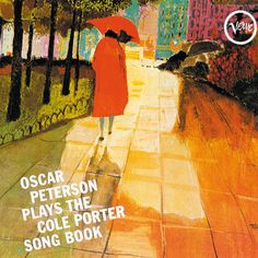 Oscar Peterson Plays the Cole Porter Song Book :: Illustration by Merle Shore