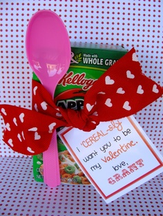 Marci Coombs: Cereal-sly cute Valentine idea.
