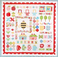 Quilty Fun Sampler by Kimberly Jolly