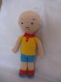Yaseminkale: amigurumi free pattern caillou, örgü oyuncak kayyu yapılışı