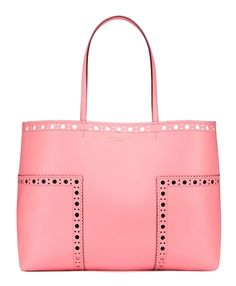 Tory Burch Block-T Brogue Tote