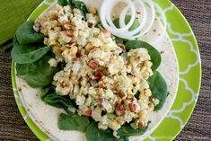This is a light and refreshing combination of flavors and textures for a perfect summer meal as a wrap, on crackers or atop a bed of organic baby spinach.