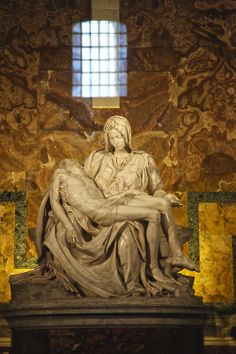 Pietà - Basílica de São Pedro - Vaticano - 2013 - Francisco Aragão  Michelangelo e59c61bf051
