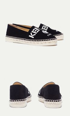 KENZO ESPADRILLE - This espadrille works equally well for night or day.