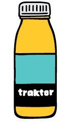 TRAKTOR - Ananas, Orange & Banane Smoothie, Drink Bottles, Orange, Drinks, Products, Pineapple, Tractor, Flasks, Drinking
