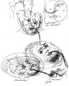 #erinnerung #1991 #portrait #skizze #installation #bodyframes #bodybox #pathfinder #zeichnung #drawing #inbetween #markuswintersberger