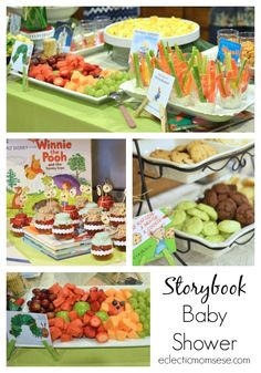 Eclectic Momsense | Storybook Baby Shower and Printables | http://eclecticmomsense.com