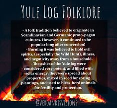 Some Folklore about the tradition of the ! Yule Traditions, Winter Solstice Traditions, Christmas Traditions, Pagan Yule, Wiccan Witch, Witchcraft, Pagan Christmas, Yule Celebration, Yule Crafts