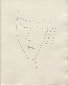 Pablo Picasso - Femme Endormie Drawing