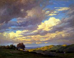 Paul Grimm (1891-1974) Approaching Storm Oil on canvas