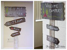 Camping- signs