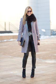 Mary Alice Stephenson in a Tommy Hilfiger coat   - HarpersBAZAAR.com