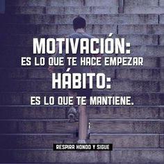 Motivación y Hábito.
