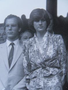 Diana & Prince Albert of Monaco