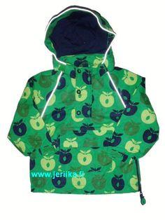 Småfolk anorakki, vihreä omena