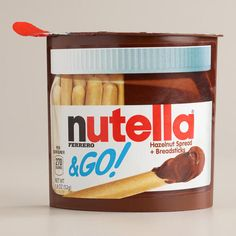 One of my favorite discoveries at WorldMarket.com: Nutella