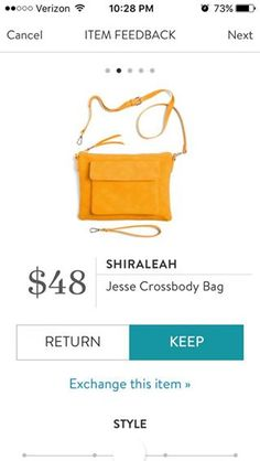 Shiraleah Jesse Crossbody Bag. I love Stitch Fix! A personalized styling service and it's amazing!! Simply fill out a style profile with sizing and preferences. Then your very own stylist selects 5 pieces to send to you to try out at home. Keep what you love and return what you don't. Only a $20 fee which is also applied to anything you keep. Plus, if you keep all 5 pieces you get 25% off! Free shipping both ways. Schedule your first fix using the link below! #stitchfix @stitchfix. Stitchfix…