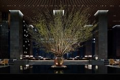 Aman Tokyo | Hotel Interior Design, Luxury Hotels, Hospitality Design #hoteldesign #hotelroomdesign #hotelarchitecture | See more hospitality projects http://brabbucontract.com/projects.php