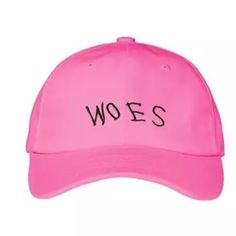"• Woes Hat • ⚫️ Coming Soon.                                      ⚫️Drake ""Running Through The 6 With My Woes"" Hat.                                                                                                                                                                                           ⚫️ Please Do Not Buy This Listing Accessories Hats"