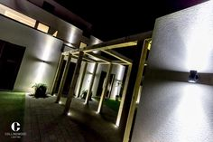 LED lighting from Collingwood enhances architecture and landscapes with long life, energy efficient illumination. Master light with the leaders in integrated LED lights Garden Lighting Inspiration, Design Inspiration, Energy Efficient Lighting, Brighton, Led, Wall Lights, Bathtub, House Design, England