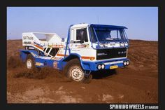 DAF Turbo Twin Parijs Dakar