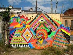 Zosen, street art, graffiti art, wall murals, free walls, world urban artists