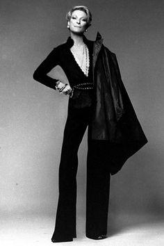 Fashion icon Nan Kempner