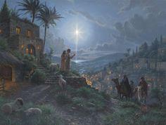 Light of the World by Mark Keathley - http://www.parsonsthomaskinkadegallery.com/light-of-the-world-by-mark-keathley/