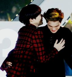 Taemin and Kai