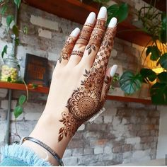 Today Simple And Easy Patterns Latest Mehndi Designs 2019 New Images Khafif Mehndi Design, Mehndi Designs Book, Mehndi Designs For Girls, Mehndi Designs For Beginners, Mehndi Design Photos, Mehndi Designs For Fingers, Latest Mehndi Designs, Back Hand Mehndi Designs, Mehndi Images